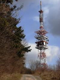 Vysílač na vrcholu Babí lom