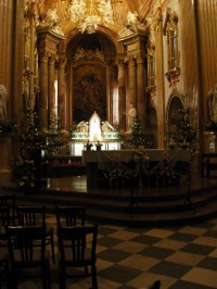 Interiér baziliky Velehrad