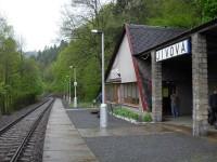 Železniční zastávka Jívová