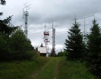 Suchý vrch - vysílače