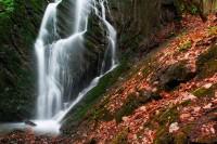 Bobří soutěska-vodopád