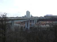 Výhled na Nuselský most od Karlova