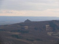 Lovoš - pohled na Košťálov
