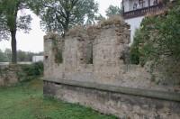 Zbytky severozápadního křídla zámku