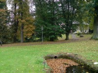 ze zámeckého parku