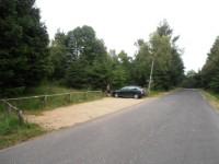 Parkoviště pod rozhlednou