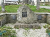 Pomník zaniklým šumavským obcím