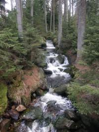 Kaskády Jezerního potoka