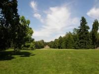 Park sychrovského zámku
