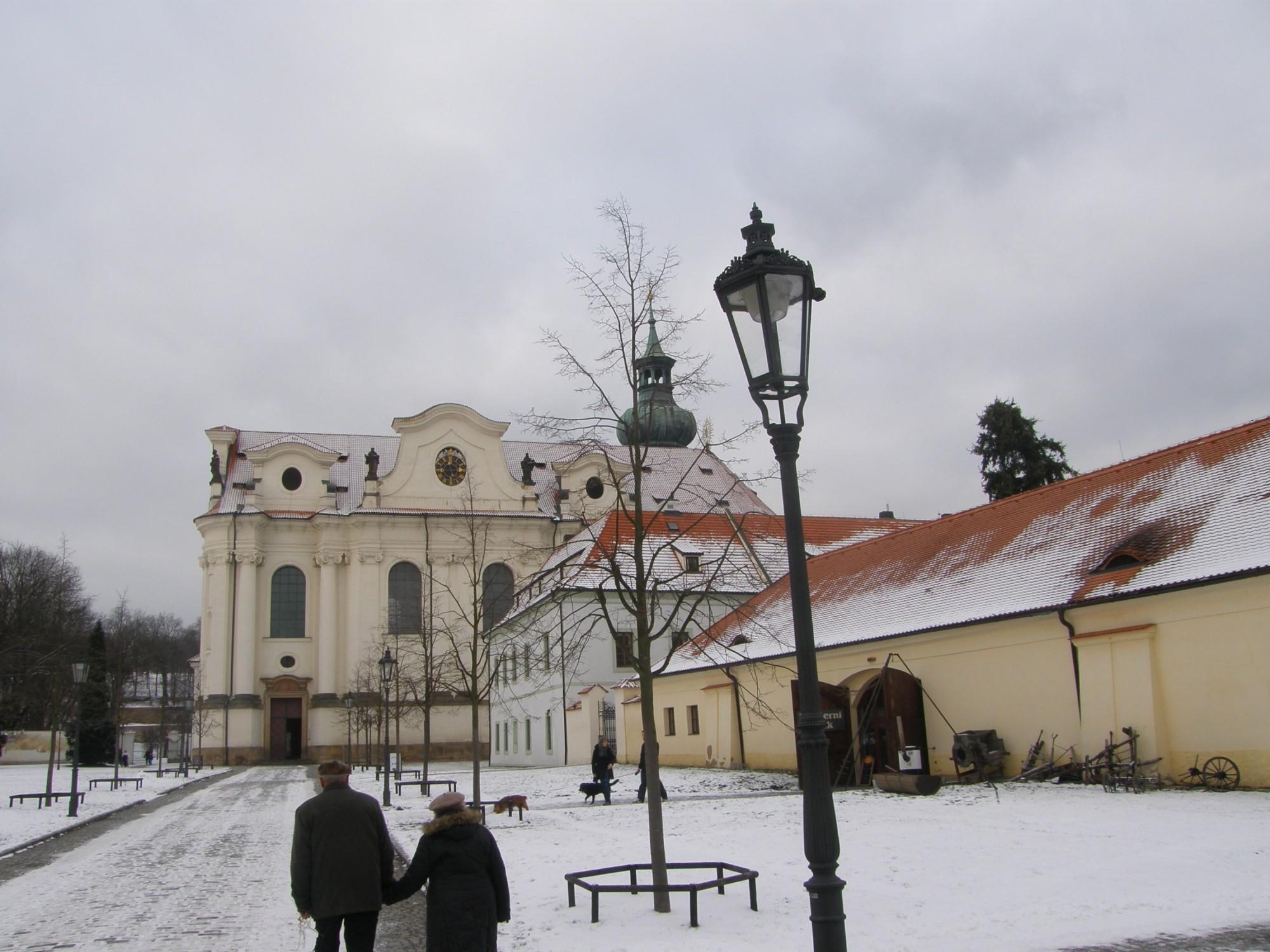 Klaster Praha Břevnovský Klášter Praha