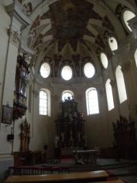 Bazilika sv. Markéty je skutečným srdcem kláštera