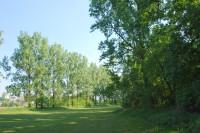 Nejjižnější část golfového hřiště