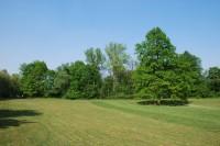 Část hřiště v bezprostřední blízkosti řeky Odry