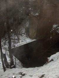 nad vodopádem