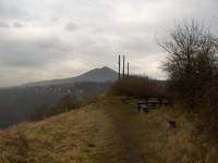 vrchol Kalvárie a Lovoš
