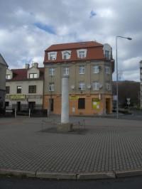 Milník v Litvínově.