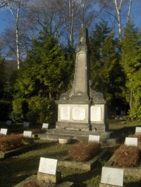 Pomník na památku hornické tragedie na dole Jupiter.