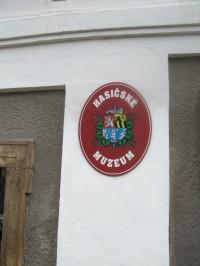Hasičské muzeum v Krupce.
