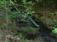 Vodopád na Unčínském potoce.