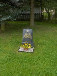 Pomník strážmistra Václava Staňka.