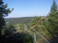 Na skalní vyhlídky v západní části Saského Švýcarska.