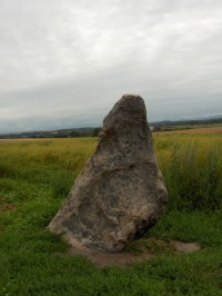 menhir -Zkamenělý mnich