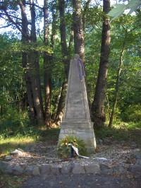 památník zajetí generála Vandamma