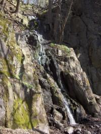 Průčelský vodopád