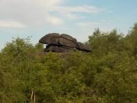 skalní útvary na Jeřabině