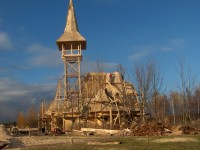 V Mostě se staví pravoslavný kostel.