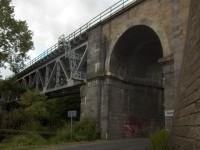 Železniční most u obce Železná