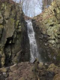 Vodopád na Pekelském potoce
