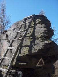 vrcholová skála Kapucín