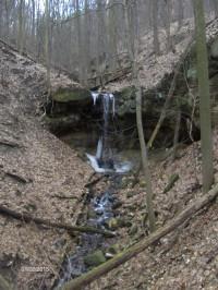 Vodopád na Kamenném potoce