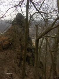 Zřícenina hradu Strážný