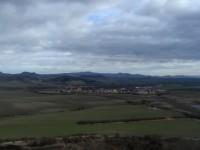 výhled z Blšanského chlumu