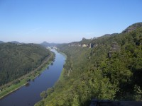 Skalní vyhlídka Kleine Bastei