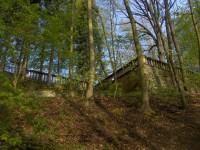 bývalá lázeňská terasa