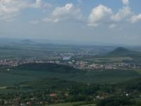 Výhled na Kočku, Mostku a Litoměřice