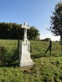 kříž INRI z r. 1941 Pod Bařinou