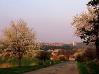 Plumlov a Žárovice z Drahanského kopce