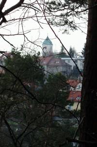 kostel v Plumlově od Zlechova