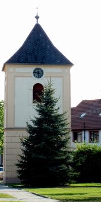 Hrubčice zvonice sv.Václava z r.1769