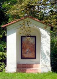 zastavení křížové cesty ke kostelu