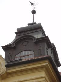 věžička zámku