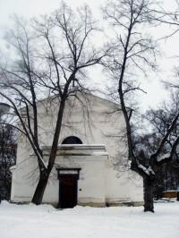 kaple u zámku v Náměšti na Hané