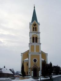 kostel v Náměšti na Hané