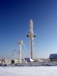 vysílač u Drahan