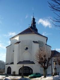 kostel v Branné