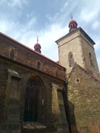 Kouřim -chrám sv. Štěpána
